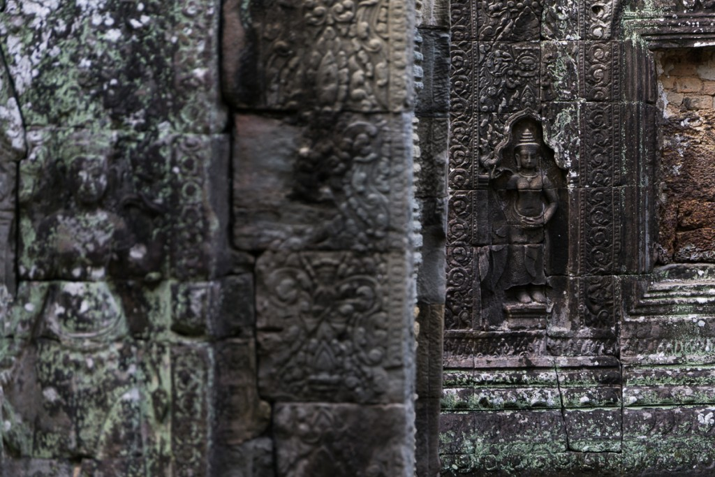 Inside the temples you can find some pretty impressive carving right in the stone. Marie Baersch, Sony a6000, Zeiss Touit 2.8/50mm.