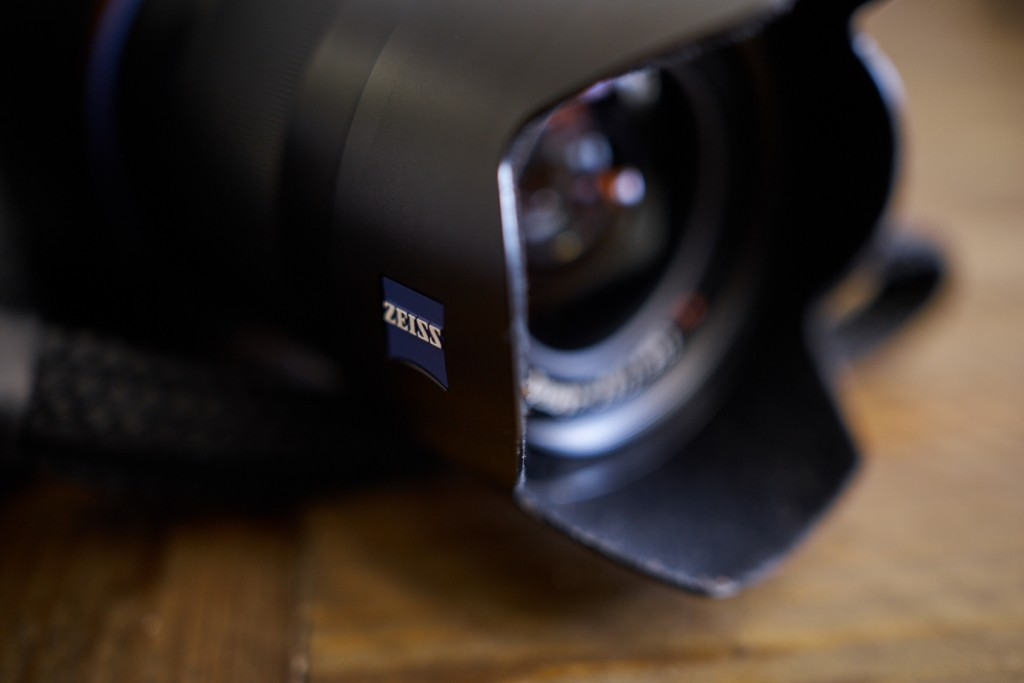 Even the lens-hood is made of metal and clicks into place quite securely.
